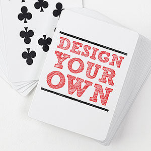 design your own custom playing cards