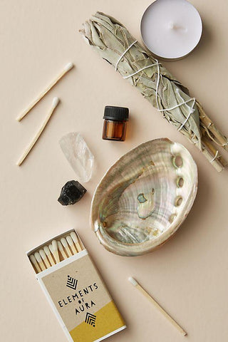 elements of aura cleansing a space ritual kit