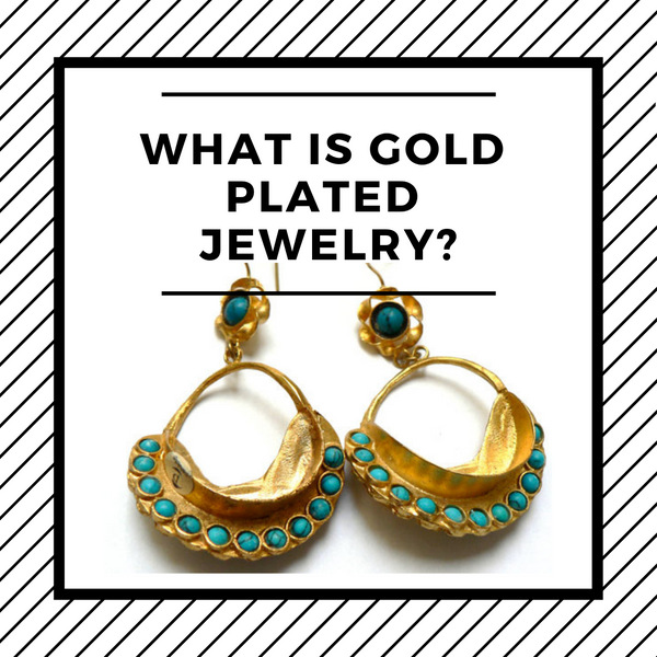 what is gold plated jewelry