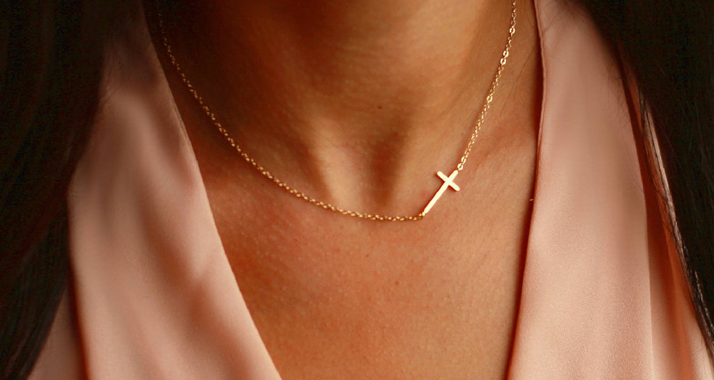 Everyday Gold Cross Necklace