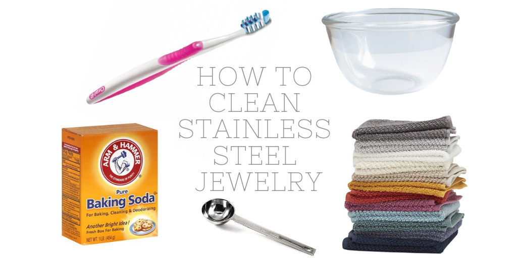 how to clean stainless steel jewelry