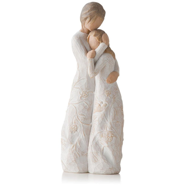 mother daughter figurine