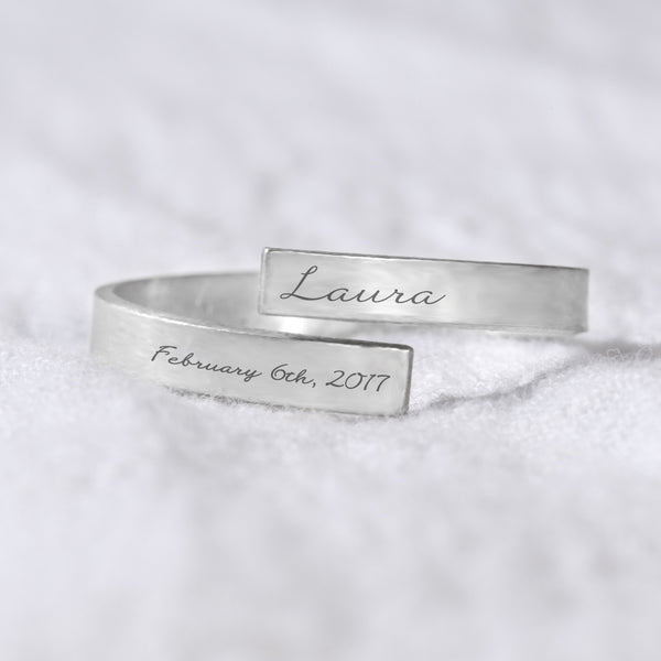 name and date wrap ring