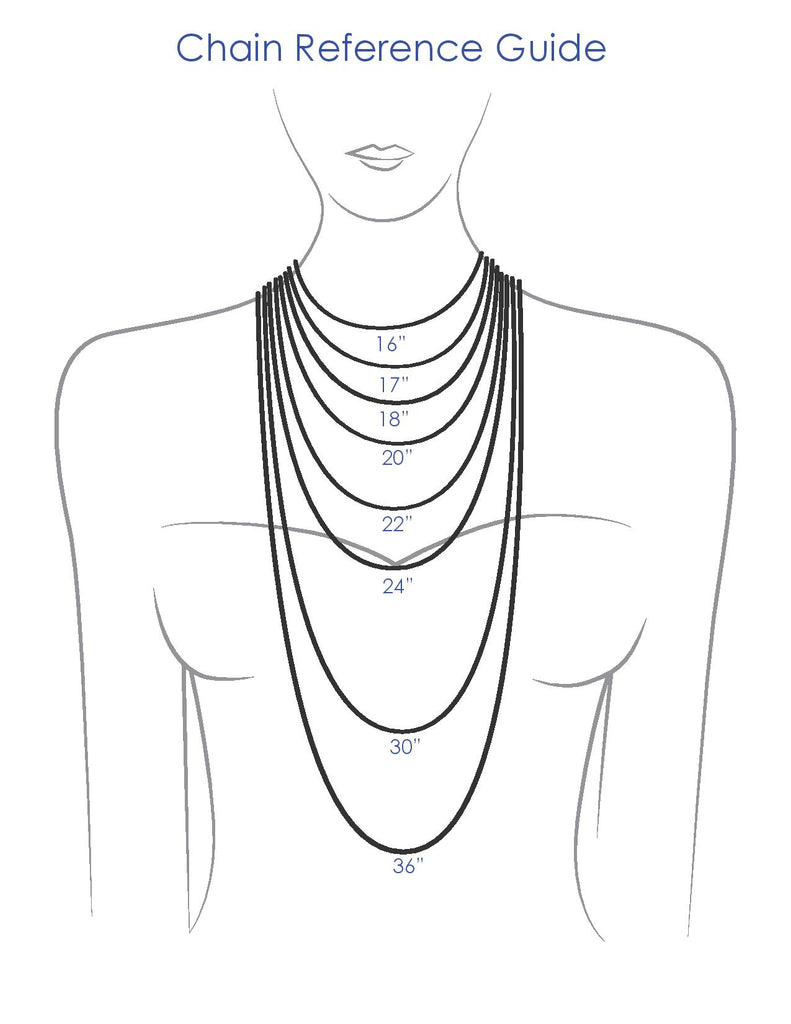 necklace chain length