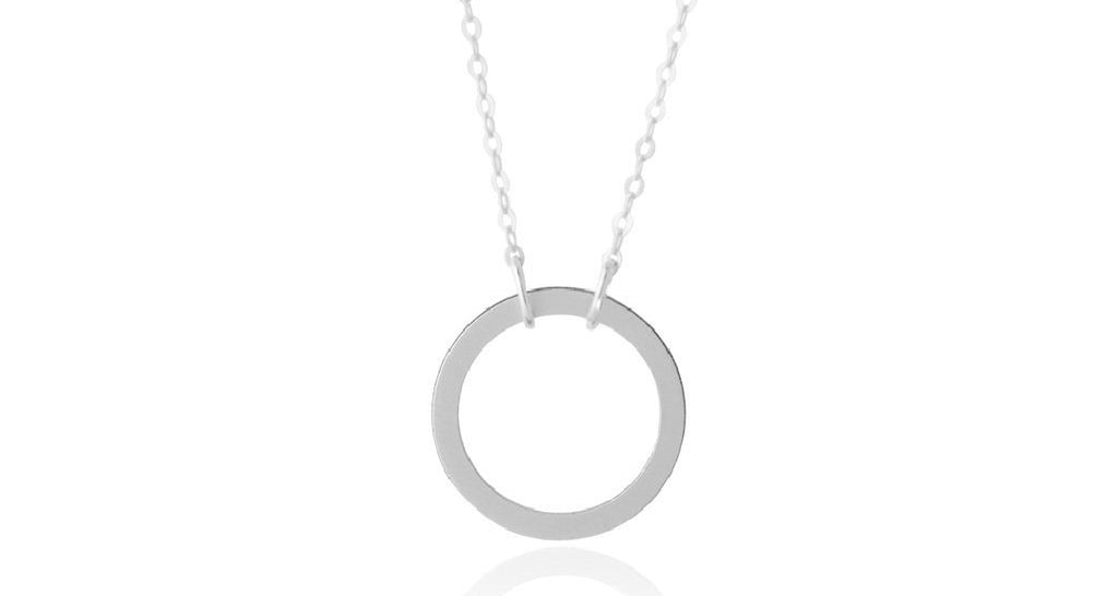 Everyday Open Circle Necklace