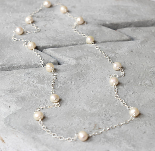 pearl necklace le perle