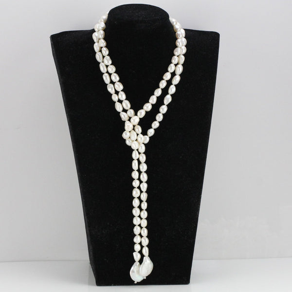 pearl necklace lisha
