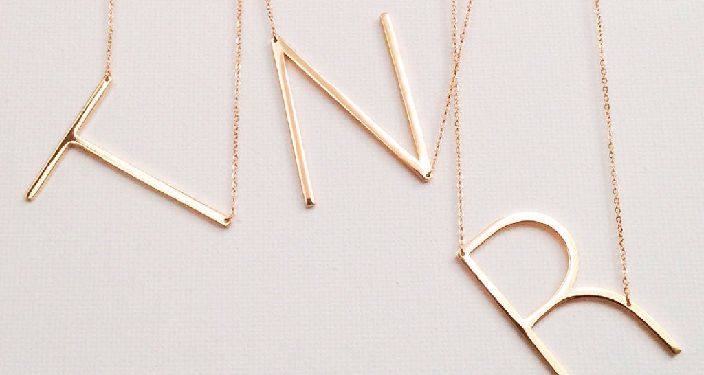 Everyday Initial Necklace