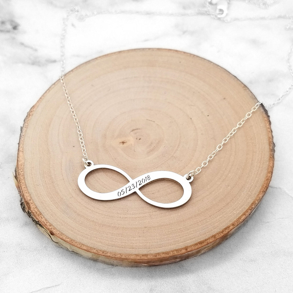 Date Infinity Necklace