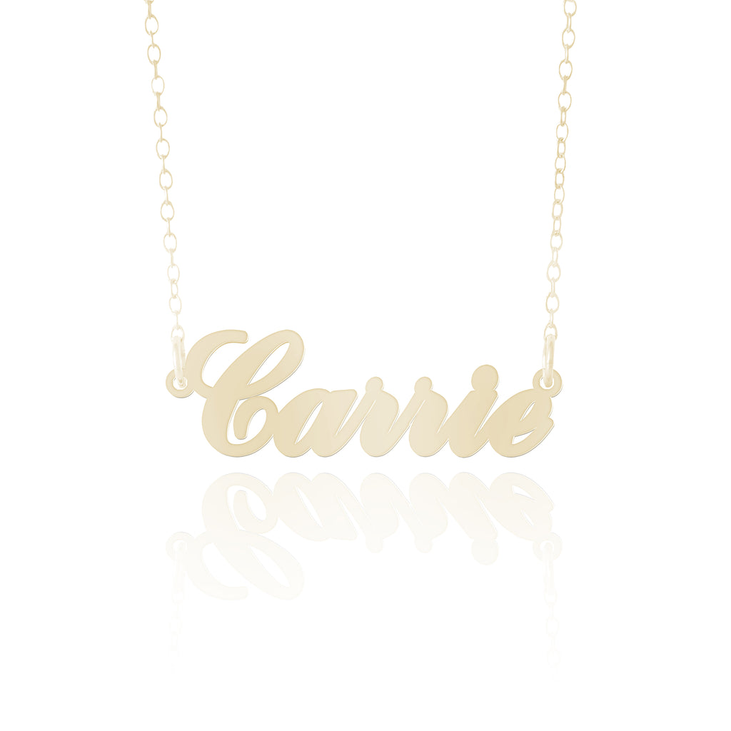Gold Carrie Necklace