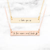 I Love You To The Moon And Back Necklace - Set of 2 Mother Daughter Necklaces