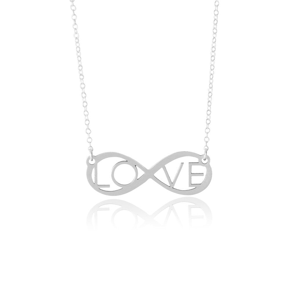 Eternal Love Necklace Sincerely Silver