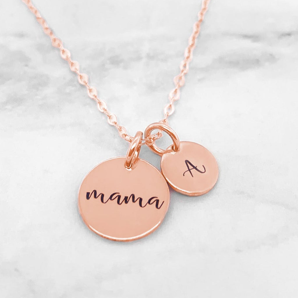 Mama Necklace - Personalized Necklace For Mom