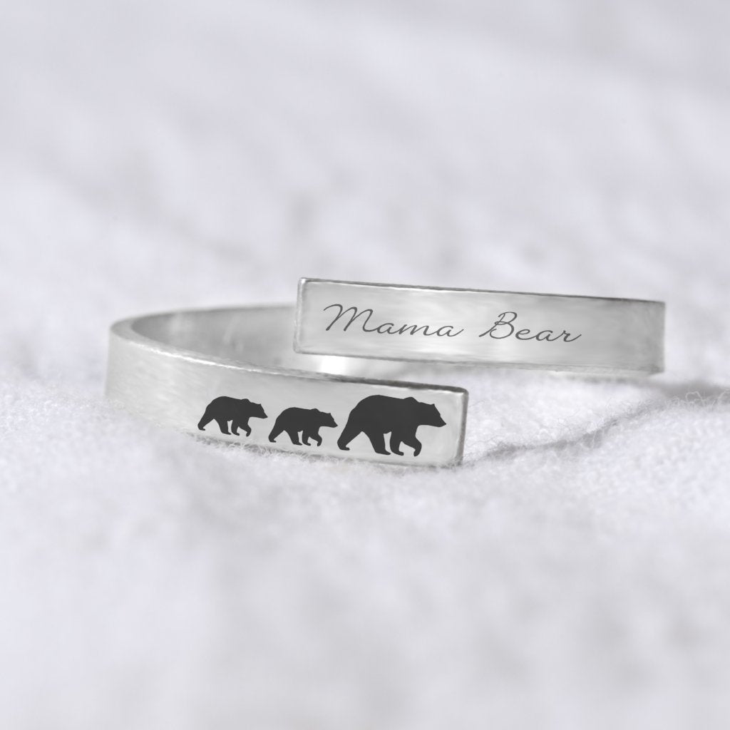 Mama Bear Wrap Ring