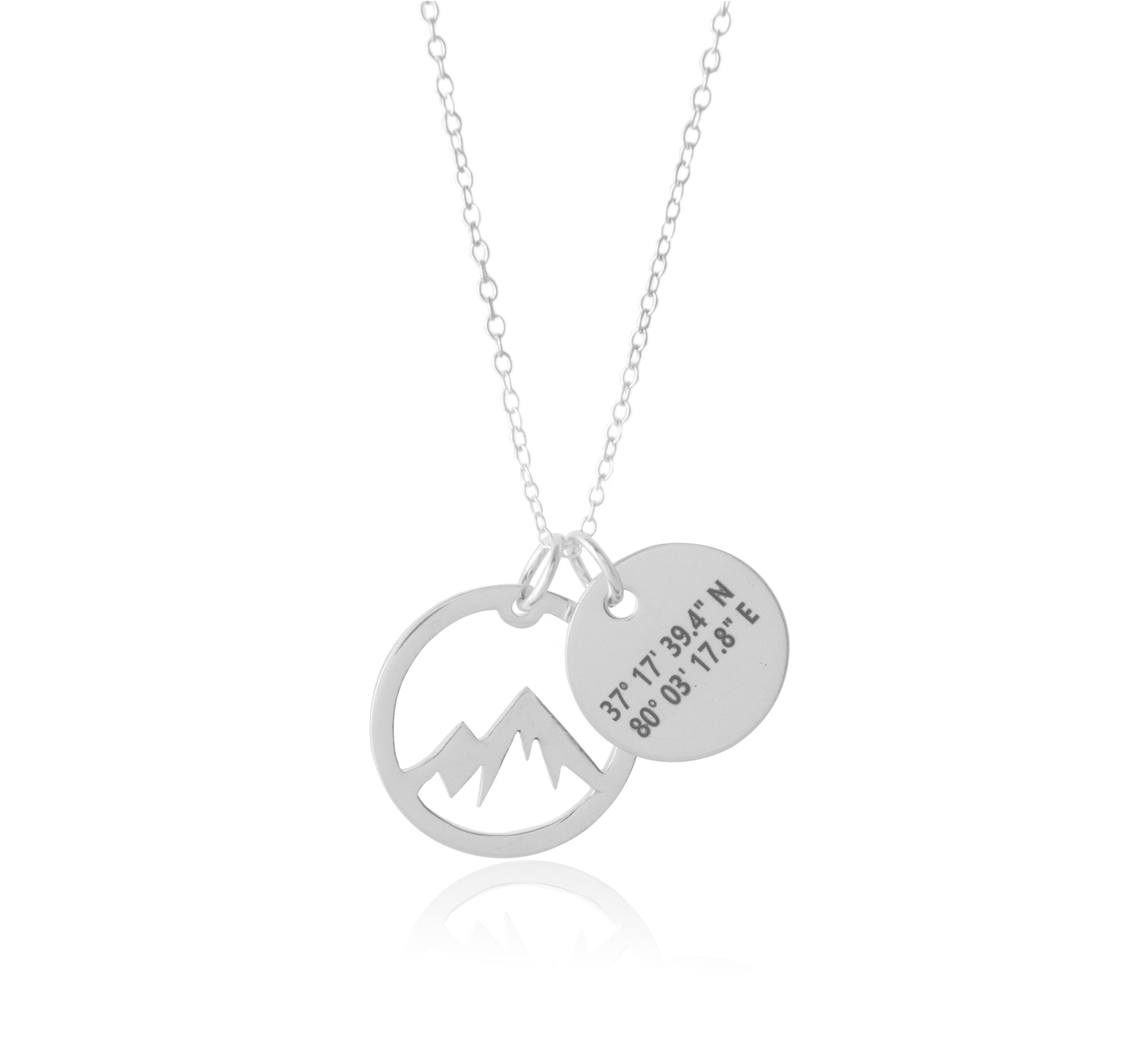 wishlist cart the add coordinate longitude galilee to sea of christian necklace latitude