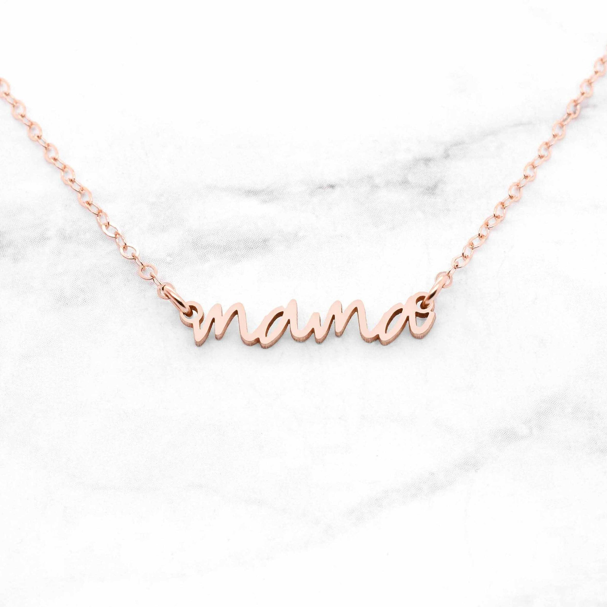 Personalized Mama Necklace