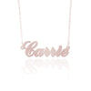 Custom Rose Gold Name Necklace