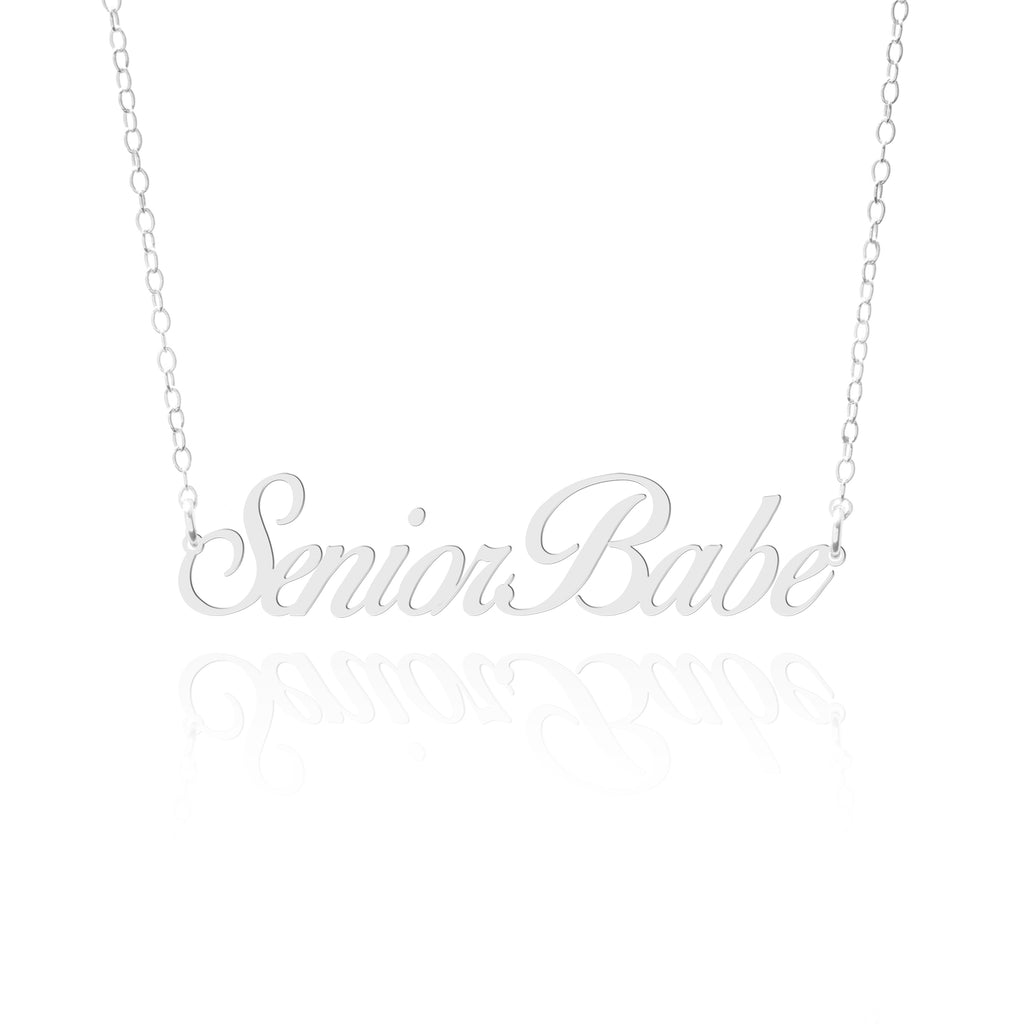 Senior Babe Necklace