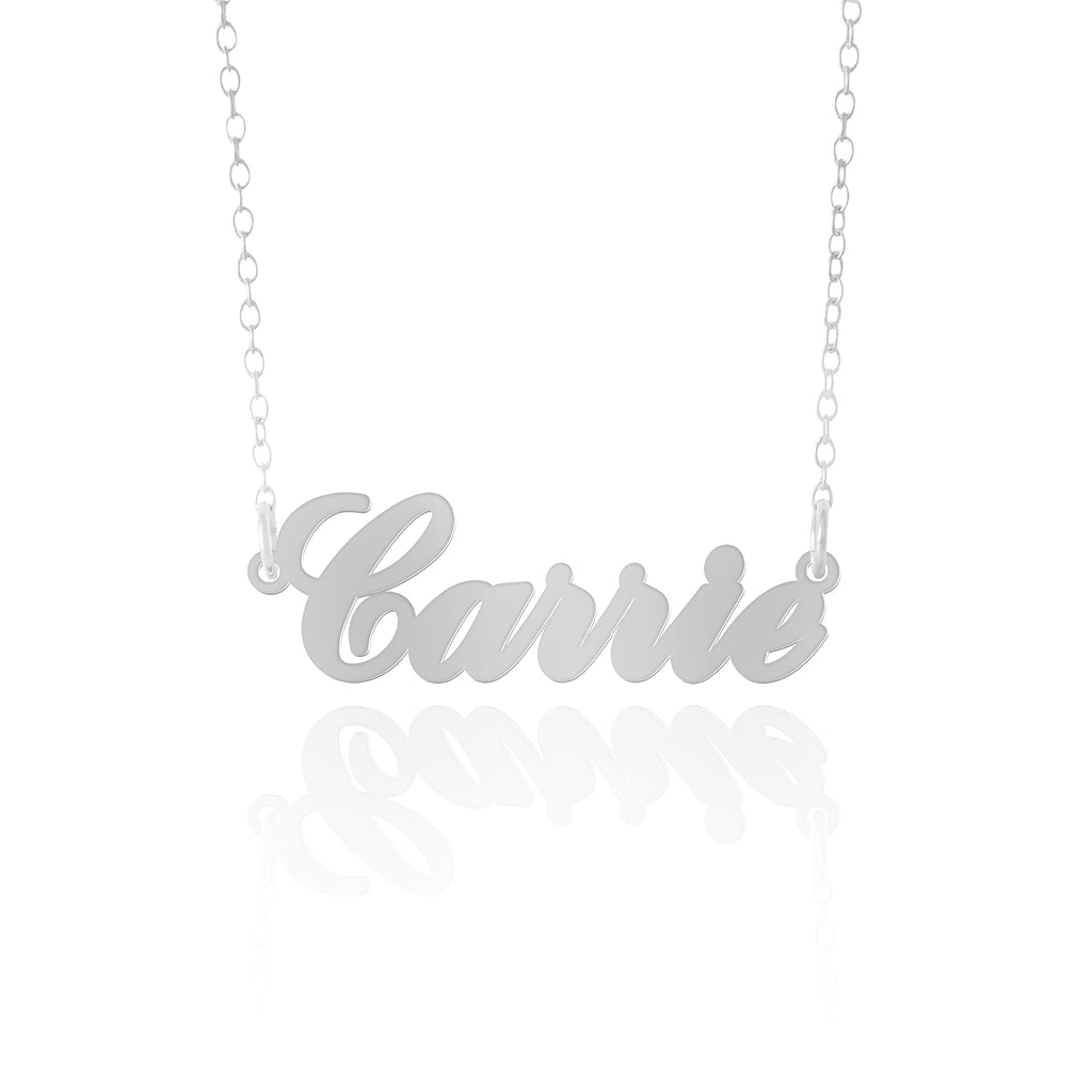 Silver Carrie Necklace