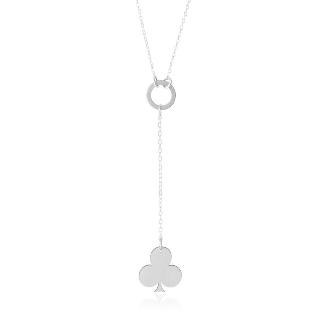 Clover-Club Lariat Necklace - Vegas Series