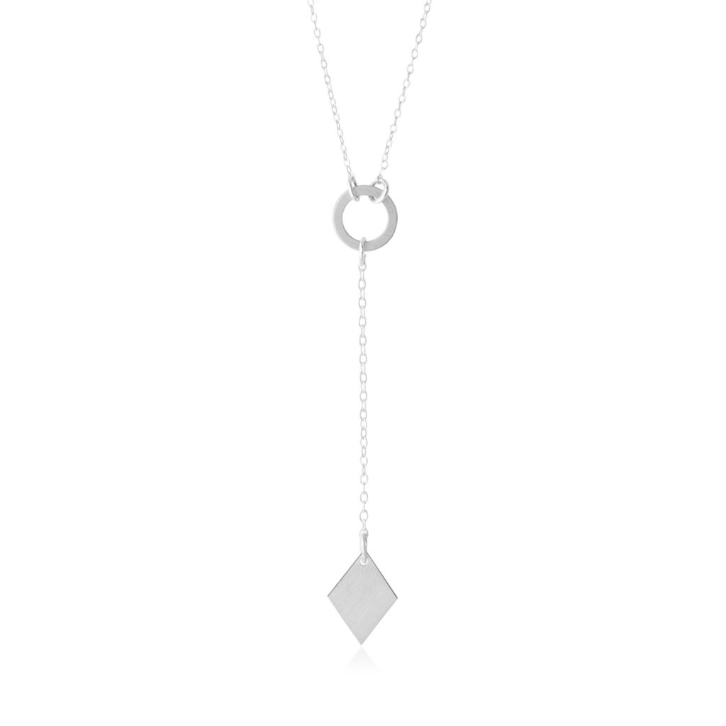 Diamond Lariat Necklace - Vegas Series