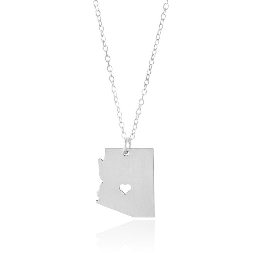 Arizona Necklace - A Sterling Silver Necklace