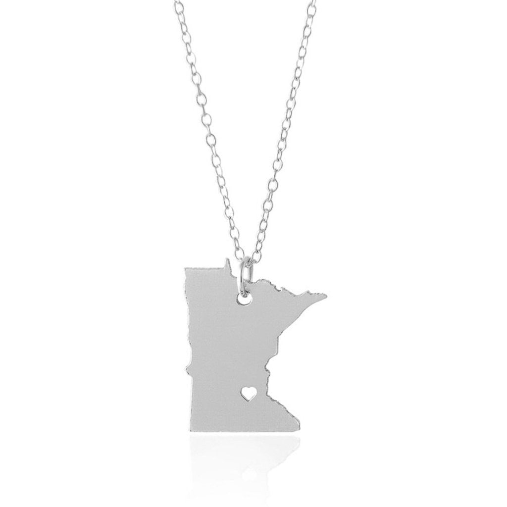 Minnesota Necklace - A Sterling Silver Necklace