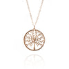 Tree Of Life Necklace Gold
