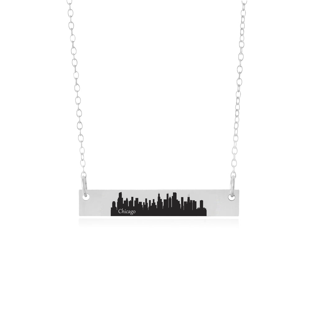 Chicago Necklace - Chicago Skyline Jewelry