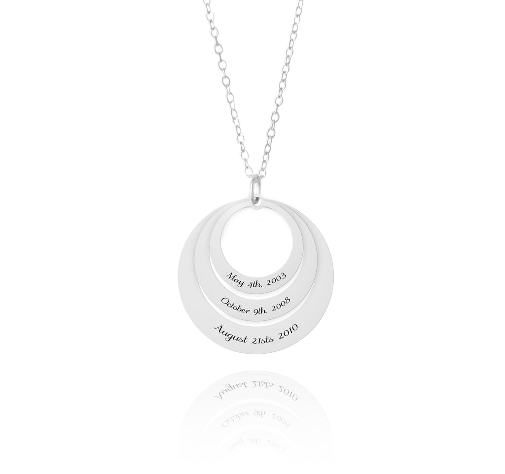 important dates necklace