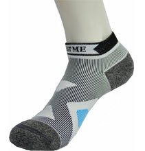 Ankle high Compression Running Socks- Moisture Wicking, Shock Absorption