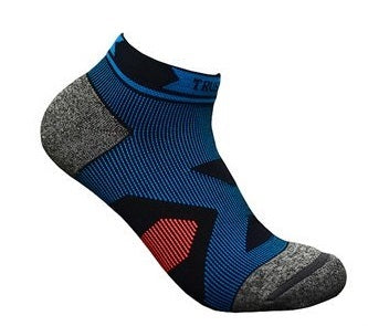 Trust me Ankle high Compression Athletic Socks- Moisture Wicking, Shock Absorption