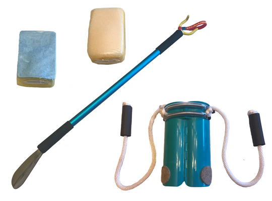 Hinged Compression Sock Aide Kit with Sponges