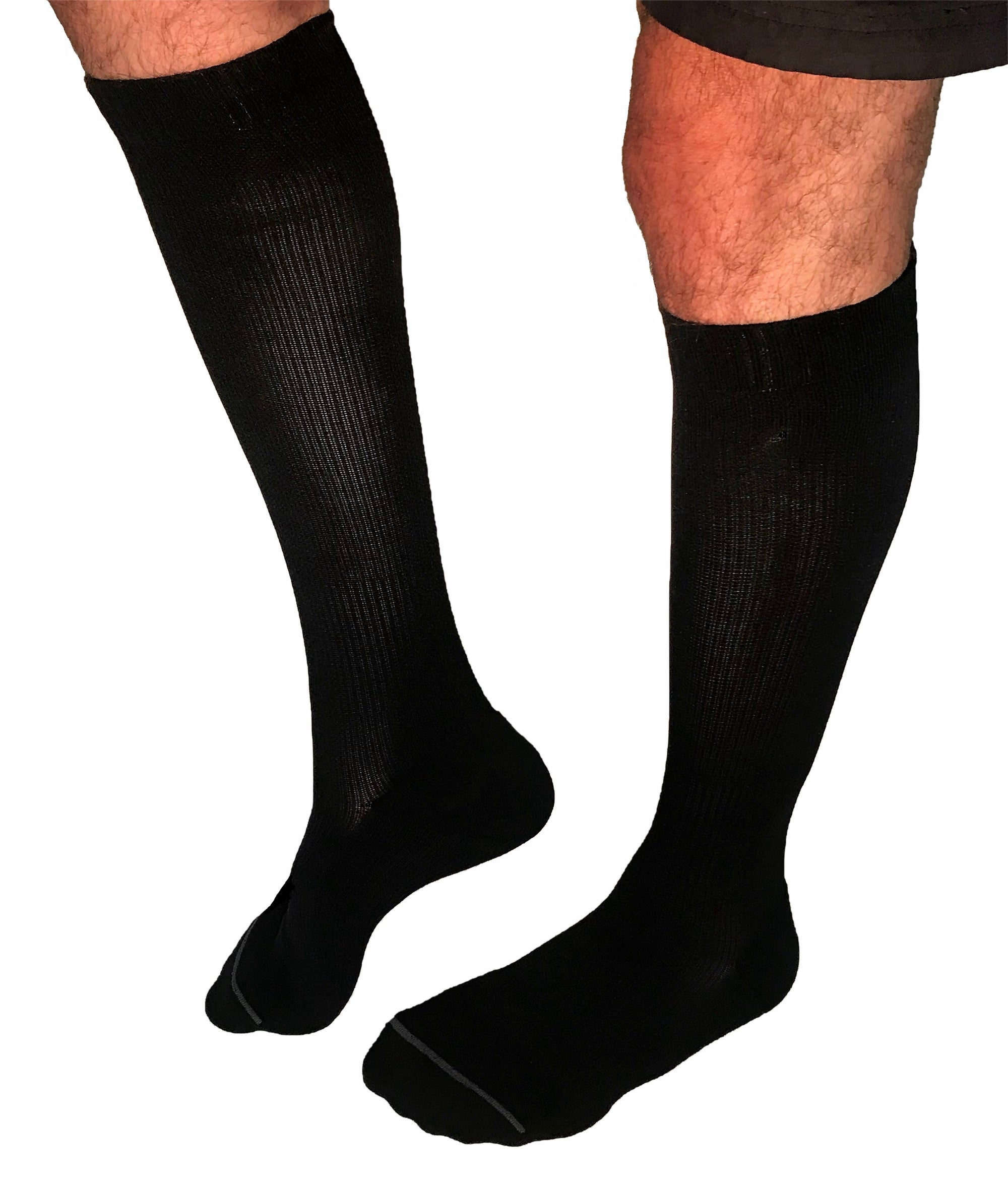 1043c52f187 Ultimate Bamboo Compression Socks for larger calves - Shock Aid Adaptive  Equipment