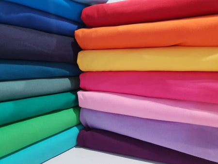 Cotton Lycra Solid Colours