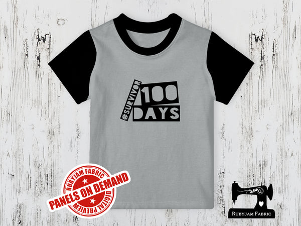 100 Days Survivor - HEATHER GREY - Panels On Demand