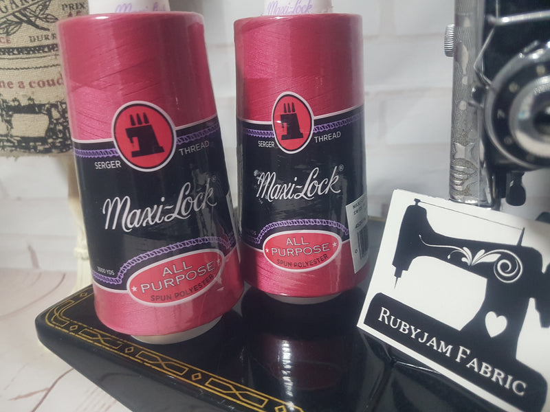 Maxi-Lock All Purpose Thread - Swiss Beauty (fuchsia pink)