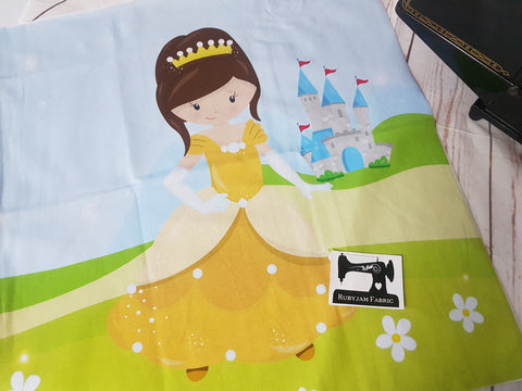 Belle Princess Panel. Sold per panel - clearance