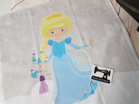 Ice Princess Panel. Sold per panel - clearance