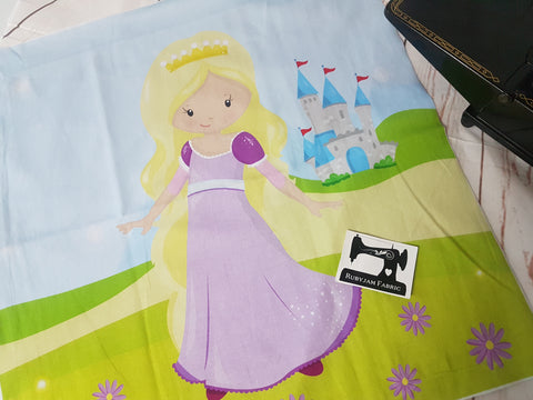 Rapunzel Princess Panel. Sold per panel - clearance