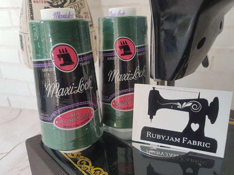 Maxi-Lock All Purpose Thread - Churchill Green (bottle green)