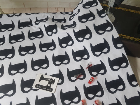 Bat masks - cotton lycra - 150cm wide
