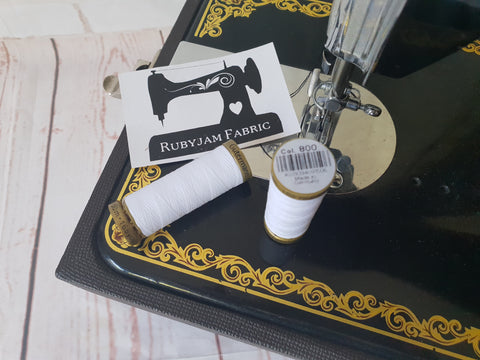 150M Gutermann Sew-All - WHITE (limited edition)