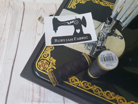 150M Gutermann Sew-All - BLACK #000 (limited edition)