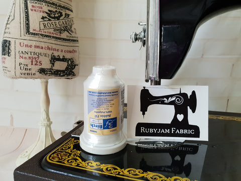 Birch Bobbin Fill Machine Embroidery Underthread White - clearance