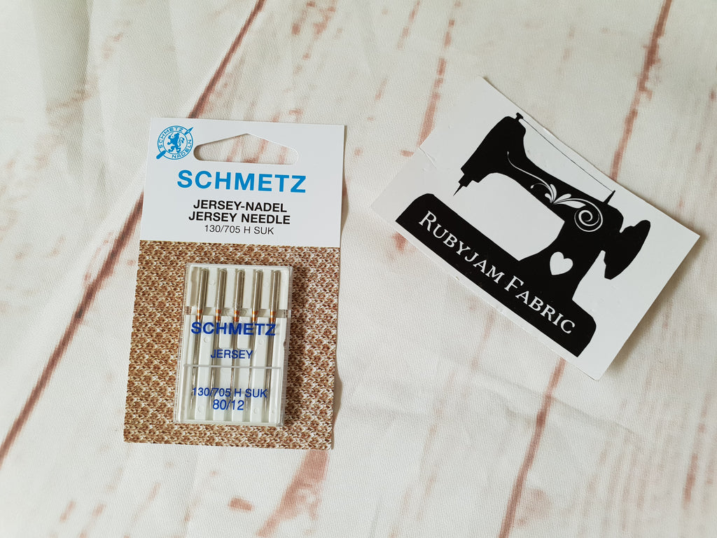 Schmetz Jersey Ball Point Machine Needles Size 80/12 - Pack of 5