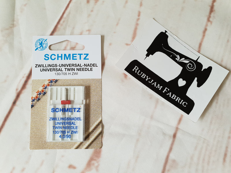 Schmetz Twin Universal Needle Size 90/14 - 4.0mm