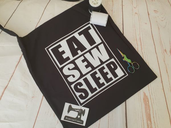 Eat, Sew, Sleep - Tote Bag