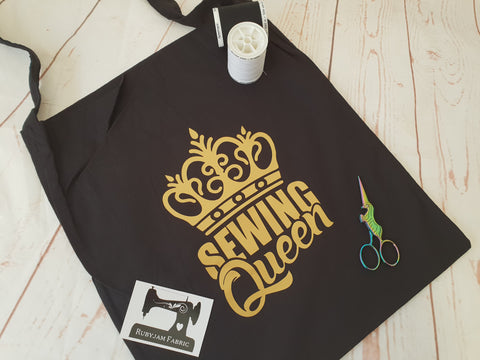 Sewing Queen Gold - Tote Bag