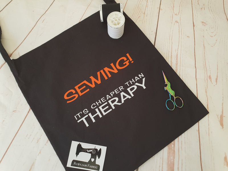 Sewing is cheaper than therapy - Tote Bag